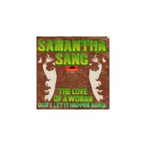 Cover - Samantha Sang: Love Of A Woman, The
