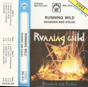 Running Wild: Branded And Exiled (Tape) - Bild 1