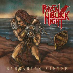 Raven Black Night: Barbarian Winter - Cover
