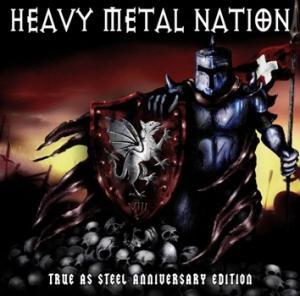 Heavy Metal Nation VIII - True As Steel Anniversary Edition - Cover