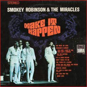 Smokey Robinson & The Miracles: Make It Happen - Cover