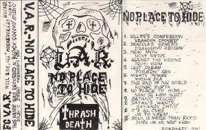 V.A.R.: No Place To Hide (Demo-Tape) - Bild 2