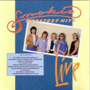 Smokie: Greatest Hits Live - Cover