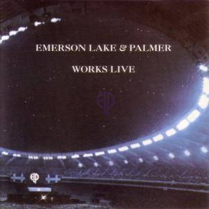 Emerson, Lake & Palmer: Works Live - Cover