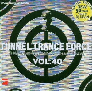 Cover - Visior & Dark Moon: Tunnel Trance Force Vol. 40