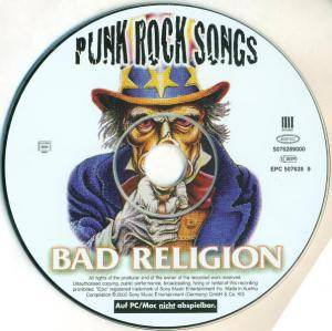 Bad Religion: Punk Rock Songs (CD) - Bild 5
