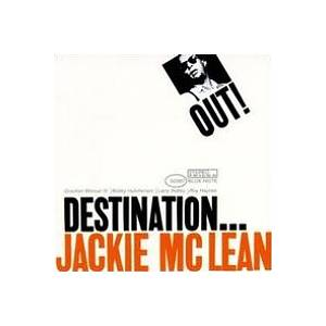 Jackie McLean: Destination Out! - Cover