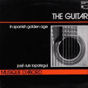 Cover - Luis de Milán: Guitar In The Spanish Golden Age, The