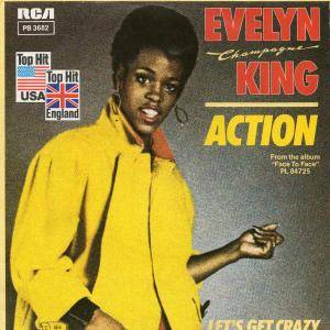 "Cover - Evelyn ""Champagne"" King: Action"