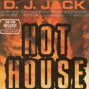 D.J. Jack: Hot House (Non-Stop Megamix) - Cover