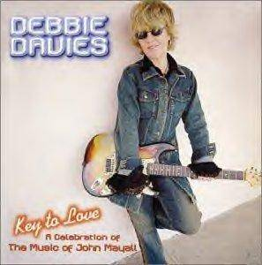 Cover - Debbie Davies: Key To Love