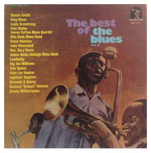 Cover - Cisco Houston: Best Of The Blues Volume 2, The