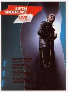 Cover - Justin Timberlake: Live From London