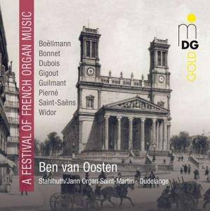 Cover - Eugène Gigout: Ben van Oosten: A Festival of French Organ Music