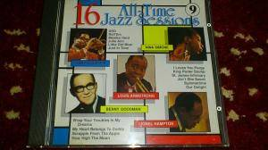 Cover - Dizzy Gillespie: 16 All-Time Jazz Sessions 9
