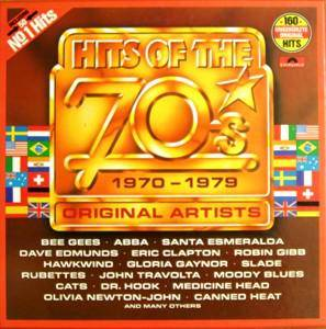Hits Of The 70's - Cover