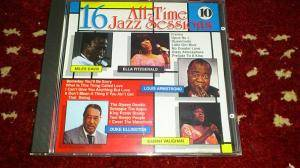 Cover - Dizzy Gillespie: 16 All-Time Jazz Sessions 10