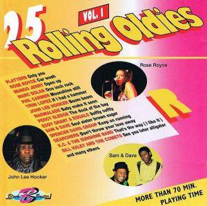 25 Rolling Oldies Vol.1 - Cover