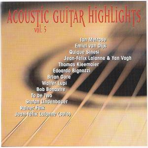 Cover - Rainer Falk: Acoustic Guitar Highlights Vol. 5
