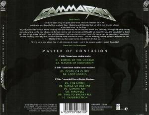 Gamma Ray: Master Of Confusion (Mini-CD / EP) - Bild 2