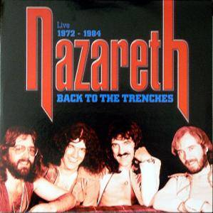 Nazareth: Back To The Trenches - Live 1972-1984 - Cover