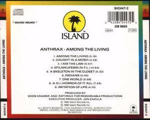 Anthrax: Among The Living (CD) - Bild 2