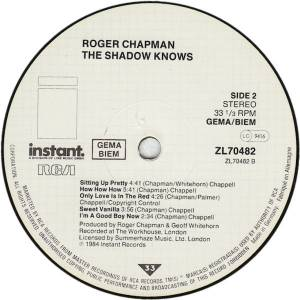 Roger Chapman: The Shadow Knows (LP) - Bild 4