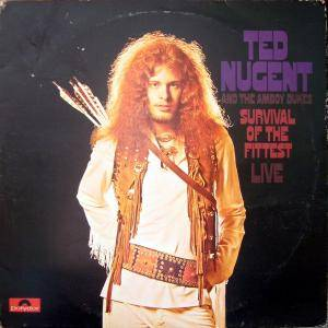 Ted Nugent & The Amboy Dukes: Survival Of The Fittest - Cover