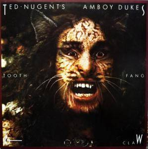 Ted Nugent & The Amboy Dukes: Tooth, Fang & Claw - Cover