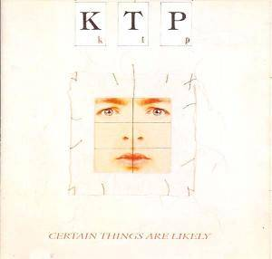 Kissing The Pink: Certain Things Are Likely - Cover