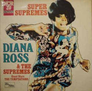 Cover - Diana Ross & The Supremes: Super Supremes