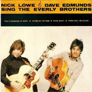Nick Lowe & Dave Edmunds: Sing The Everly Brothers - Cover