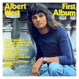 Cover - Albert West: First Album