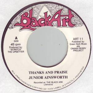Cover - Upsetters, The: Thanks And Praise