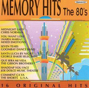 Memory Hits - The 80's - Cover