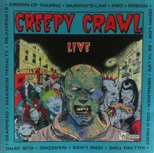 Cover - Skarhead: Creepy Crawl Live
