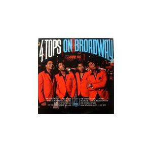 Cover - Four Tops: On Broadway