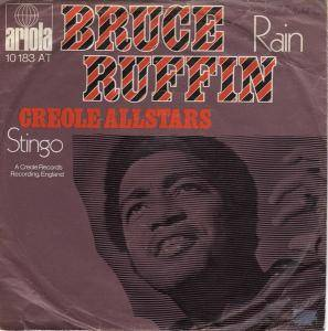 Cover - Bruce Ruffin: Rain / Stingo