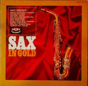 Cover - Max Greger Orchester: Sax In Gold