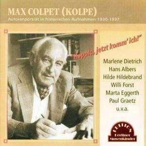 "Cover - Dolly Haas: Max Colpet (Kolpe) - ""Hoppla, Jetzt Komm' Ich"""