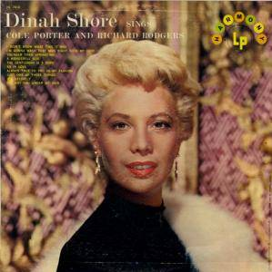 Cover - Dinah Shore: Sings Cole Porter And Richard Rodgers
