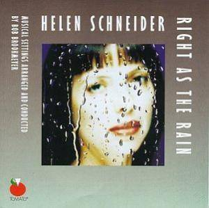 Cover - Helen Schneider: Right As The Rain