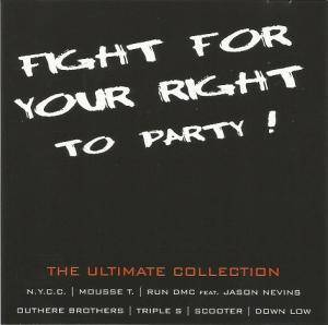 Cover - Rob 'n' Raz: Fight For Your Right To Party !