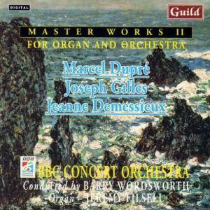 Cover - Jeanne Demessieux: Master Works II For Organ And Orchestra