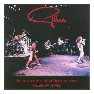Gillan: Mutually Assured Destruction - Glasgow 1982 - Cover