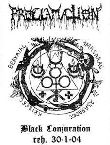 Proclamation: Black Conjuration Reh. 30-1-04 - Cover