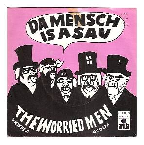 Cover - Worried Men Skiffle Group: Da Mensch Is A Sau