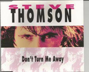 Cover - Steve Thomson: Don't Turn Me Away