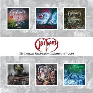 Obituary: Complete Roadrunner Collection 1989-2005, The - Cover