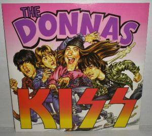 Cover - Donnas, The: Donnas / Kiss, The
